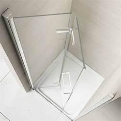 frameless tub glass doors merlyn 8 series 1000mm frameless hinged bifold door