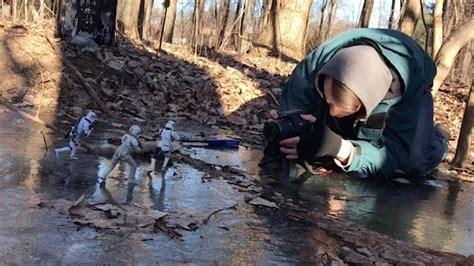 photographer captures toys  action shots youtube