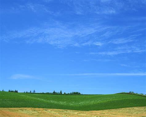 wallpaper pemandangan awan langit biru awan putih santai bahagia hd wallpaper