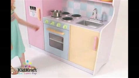 kidkraft large pastel kitchen 53181 wooden