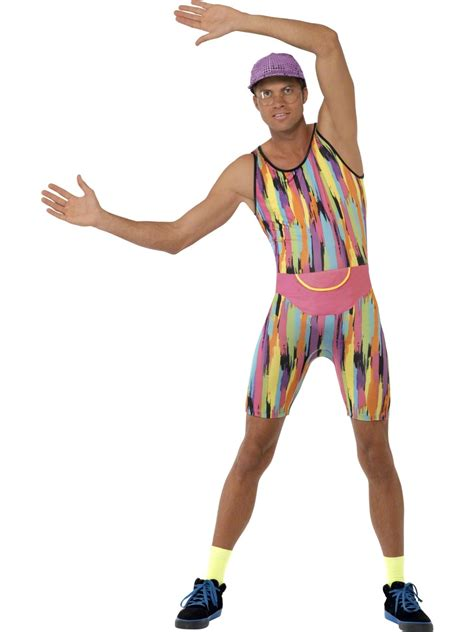 Adult Mr Motivator Costume   23696   Fancy Dress Ball