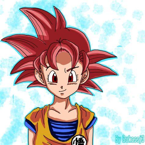 Imagenes De Goku Mujer | female goku super saiyan www imgkid com the image kid
