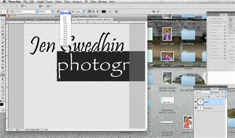 create a building creating a watermark in photoshop youtube