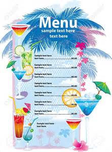 drink menu template microsoft word drink menu template 30 free psd eps documents