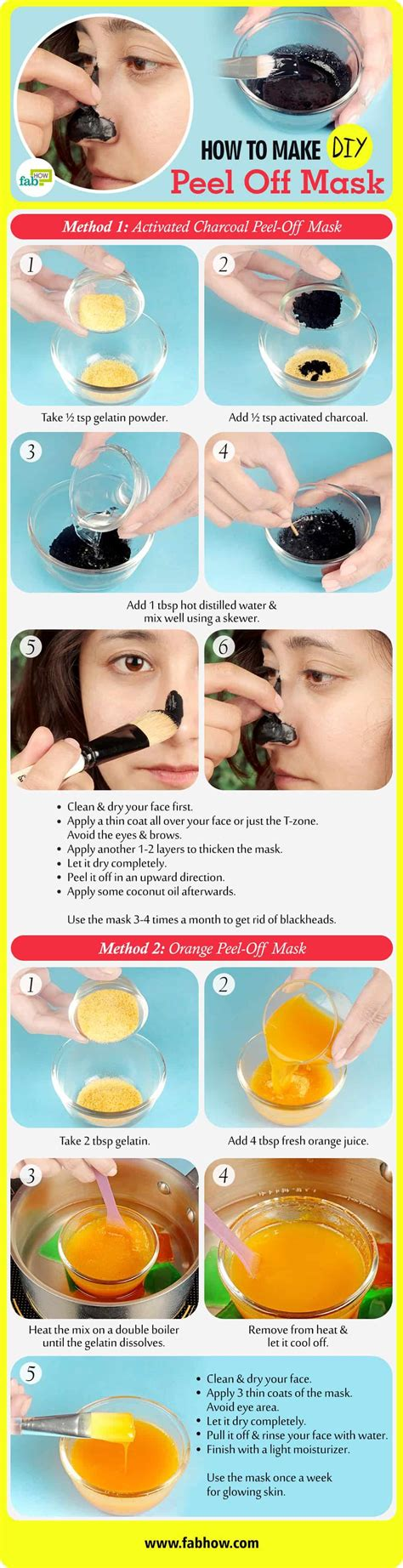 Masker Peel 5 best diy peel masks to clean pores and blackheads fab how