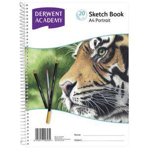 derwent sketchbook a4 derwent academy a4 sketch book portrait officeworks