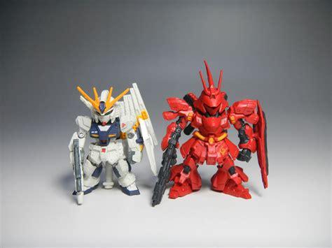 Fw Gundam Converge Sazabi Nu Gundam Metallic review fw gundam converge sp01 rx 93 nu gundam fully equipped ver msn 04 sazabi big size
