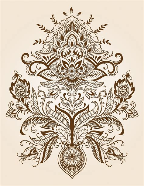 henna tattoo background paisley designs paisley henna design background