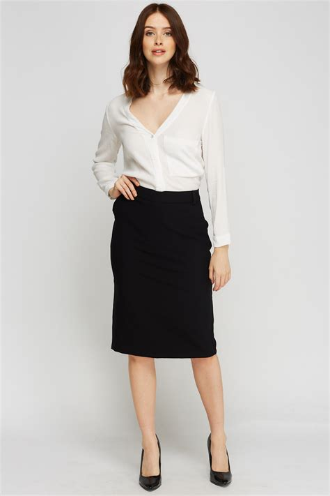 Formal Skirt by Black Formal Midi Skirt Just 163 5