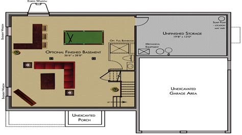 floor plans with basement cool basement ideas finished basement floor plans classic