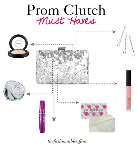 8 Tips On Preparing For Prom by The Fashionable Affair Prom Tips Clutch