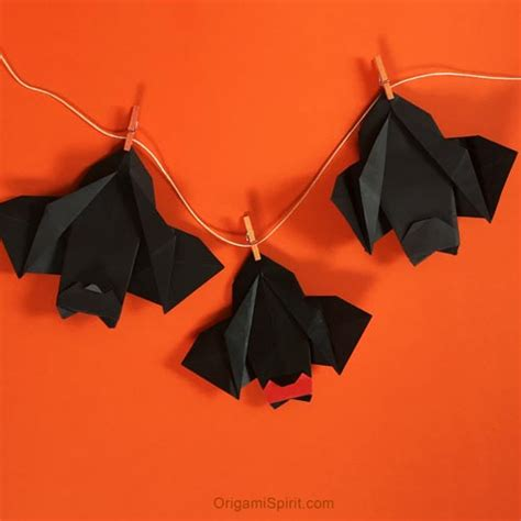 How To Make Bat With Paper - make this delightful paper bat for