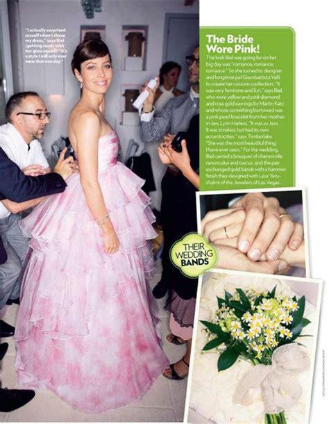 hochzeitskleid jessica biel jessica biel pink weddings and wedding dressses on pinterest