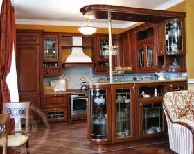 идей дизайна гостиной-кухни фото
