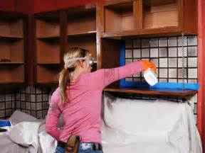 How To Clean Kitchen Cabinets Before Painting Painting Kitchen Cabinets How Tos Diy