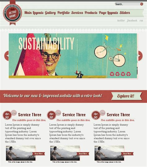 themes wordpress vintage free get a free bundle of 10 wordpress themes 750 icons and