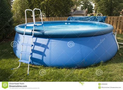swimming pool for backyard backyard swimming pool stock photo image of inflatable 26382956