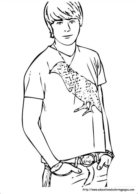 coloring pages high school high school musical educational coloring pages