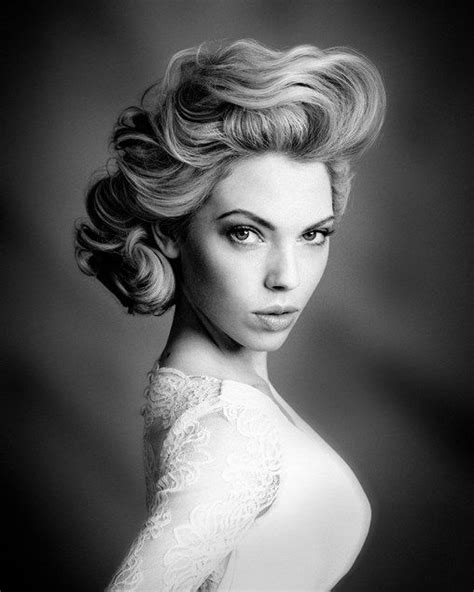Old Hollywood Updos Gallery | 150 best images about old hollywood hair styles on