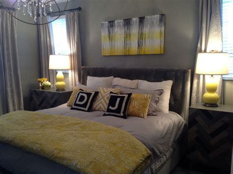 yellow and grey master bedroom 35 best images about master bedroom on pinterest grey