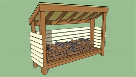 firewood storage shed plans  garden plans
