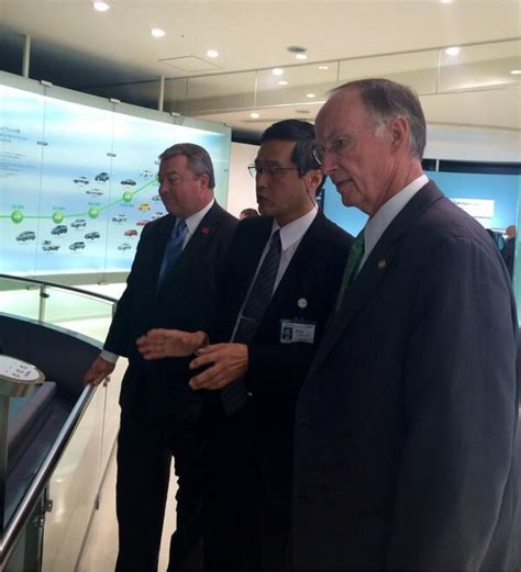 Trade Missions Are Composed Of A Of In Search Of Business Opportunities Alabama Team Meets With Top Toyota Executives On Japan Trade Mission Made In Alabama