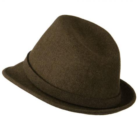 fedora brown s button fedora hat e4hats