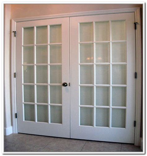 Exterior Door With Blinds Homeofficedecoration Exterior Doors With Built In Blinds