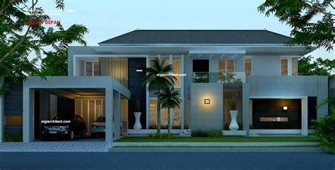 desain rumah mewah cara desain rumah minimalis modern 2 lantai jpg 1063 215 542