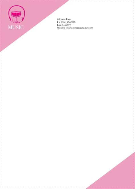 most business letterhead is inches letterheads