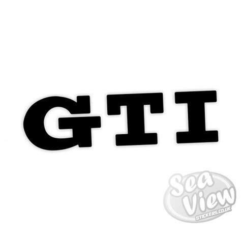 Gti Stickers gti sticker