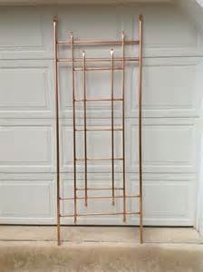 copper pipe trellis 42 best images about garden copper pipe trellis on