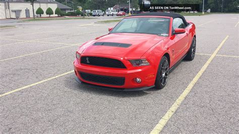 2012 Mustang V8 by 2012 Ford Mustang Shelby Gt500 Race Convertible 5 4l
