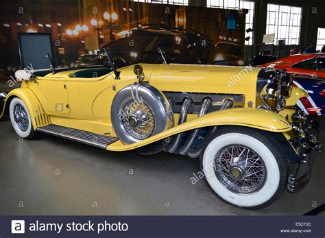 yellow rolls royce great gatsby car from the great gatsby at the warner bros studio