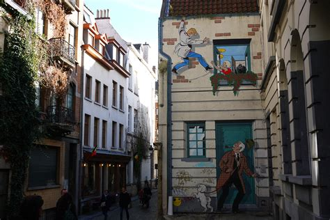 Comic Book Wall Murals street art spotting in brussels sol s out of officesol s
