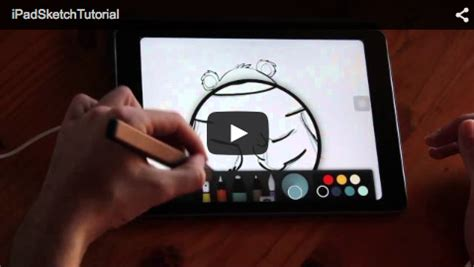 tutorial sketchbook ipad ipad sketch video tutorial kraftimama
