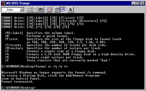 format hard disk in dos powerspec support icons displayed incorrectly