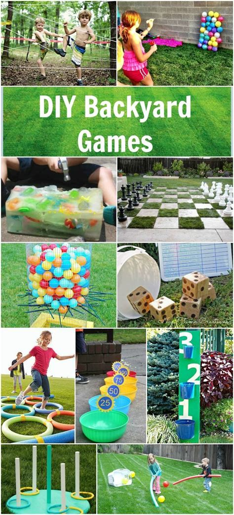 backyard games for teens best 25 outdoor birthday decorations ideas on pinterest