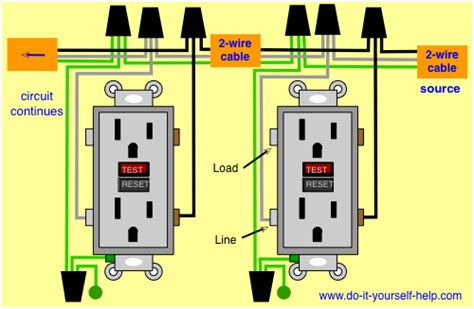 Wiring Diagram For Two Gfci Electrical In 2019 Home
