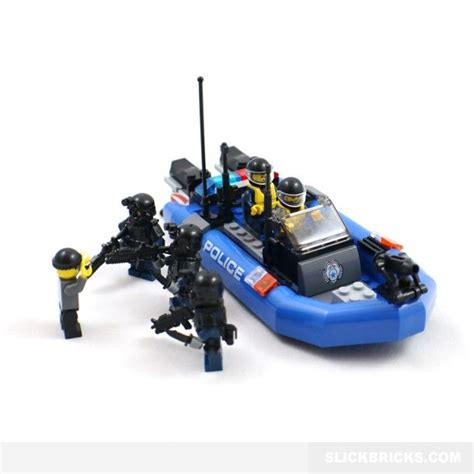 lego army boats police boat and swat minifigures lego compatible cool