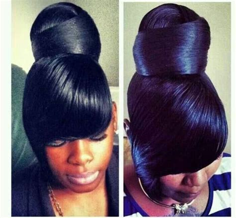 updoswith swoopsblack 972 best cute styles bangs buns ponytails up do s images