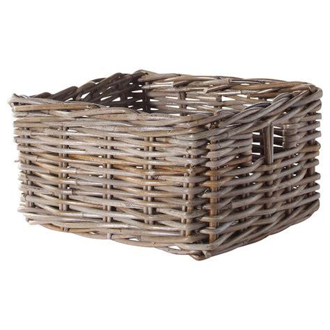ikea basket byholma basket grey 25x29x15 cm ikea