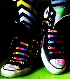 Traveling Shoes Rainbow 1000 images about converse shoes on neon