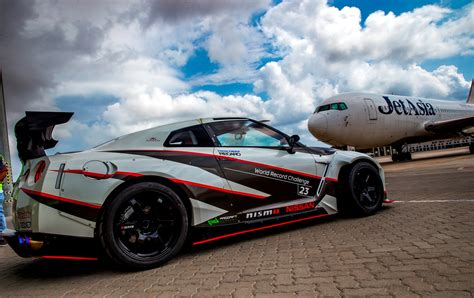 new drift 1 380hp nissan gt r sets new guinness world record for