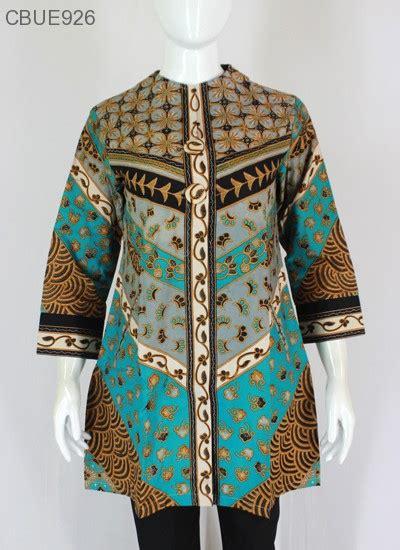 Batik Atasan Wanita Tunik Manyala atasan wanita tunik batik blarak 9012 blus lengan