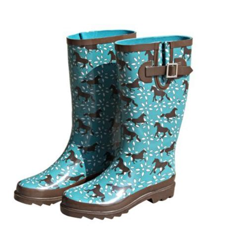 rubber boots at tractor supply bit bridle ladies rubber boots teal horse tractor