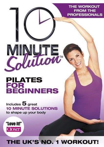 10 minute solution pilates for beginners iwoot