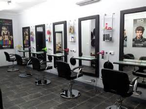 image gallery inside a hair salon