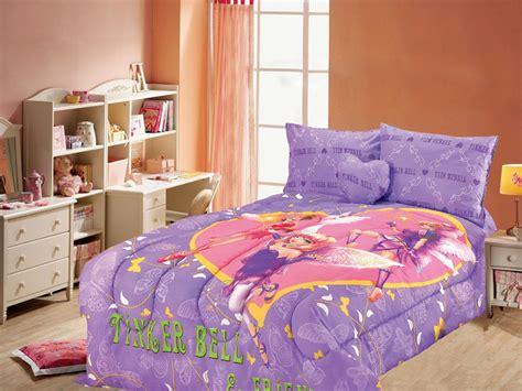 tinkerbell comforter set 4pcs toon studio tinkerbell twin bedding comforter set