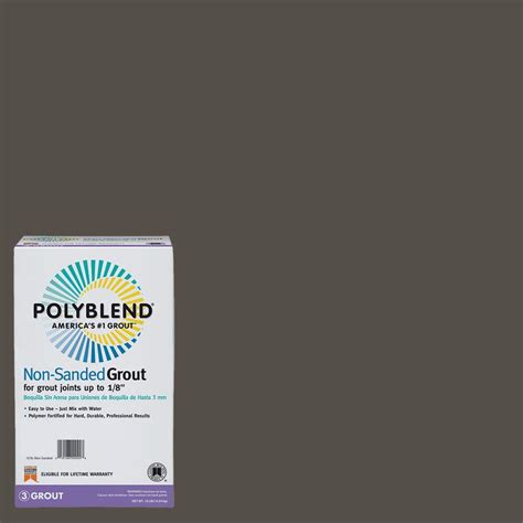 custom building products grout colors custom building products polyblend 540 truffle 10 lb non